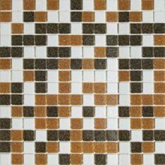 Мозаика Vivacer GLmix300 32,7*32,7 бело-бежевый - фото