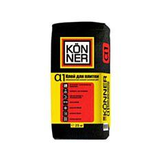 Клей для плитки Konner Alfa1 универсальный 25 кг - фото