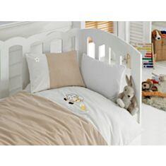 Комплект постельного белья Cotton Box Baby Ranforce LUX Kuzucuk Bej 100*150