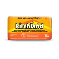 Клей для плитки Kirchland UltraFlex еластичний 25 кг