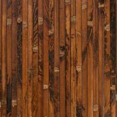 Бамбукові шпалери черепахові темні 0,9м 17мм 11935