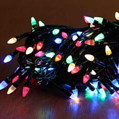 Гірлянда Конус 100 LED 8 м мультиколор - фото