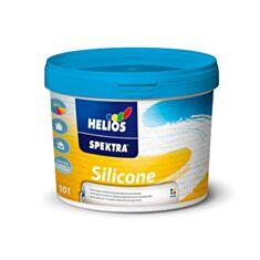 Фасадна фарба силіконова Helios Spectra Silicone В1 10 л білий