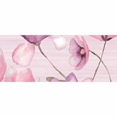 Декор Golden Tile Flora 1В5321 20*50 розовый