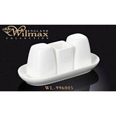 Набор соль, перец Wilmax 996118 - фото