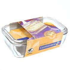 Маслянка прозора з корівкою Luminarc ButterDish 73115 17*5 см - фото