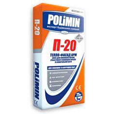 Клей для пенопласта Полимин П-20 25 кг - фото