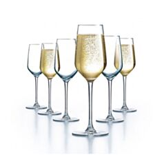 Келихи для шампанського Luminarc Val Surloire L8098 190мл 3шт