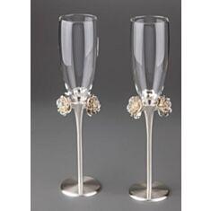 Весільні келихи Троянди 021G