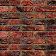 Гіпсовий камінь Bestone Цегла стара Прага червона з підпалом 1 кв.м - фото