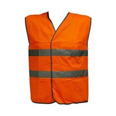 Жилет сигнальний Евроспец ЖС 111 L помаранчевий - фото
