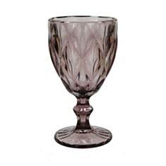 Бокал для вина Olens Изумруд 34215-3-3 300 мл розовый - фото