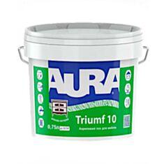 Лак мебельный Aura Triumf 10 акриловый матовый прозрачный 0,75 л - фото