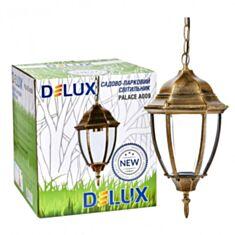 Светильник внешний Delux Palace A009 60W E27 черный золото