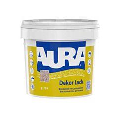 Лак для каменю Aura Decor Lack акриловий напівглянцевий 0,75 л - фото
