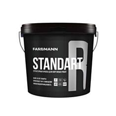 Фасадна фарба структурна Kolorit Farbmann Standart R база LAP 4,5 л прозорий