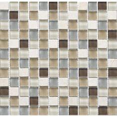 Мозаика Vivacer DAF11 1,5 *1,5 см 30*30 бежевый мрамор