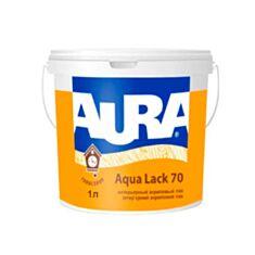 Лак інтер'єрний Aura Aqua Lack 70 акриловий напівглянцевий 1 л - фото