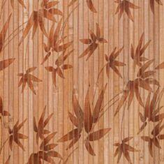 Бамбукові шпалери темні листя бамбуку 0,9м 17мм 11928