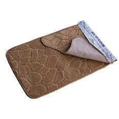 Набір килимків для ванної кімнати Економ бежевий - фото