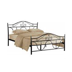 Ліжко Signal Denver 160*200 чорне - фото