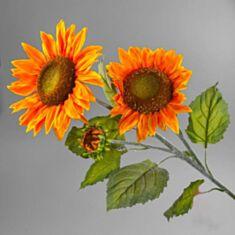 Искусственный цветок Подсолнух 045F 106см - фото