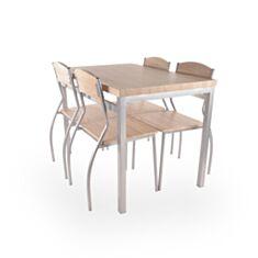 Комплект стіл та стільці Signal Astro дуб сонома - фото