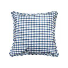 Наволочка декоративная Прованс Кантри синяя 45*45 - фото