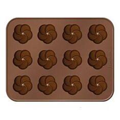 Форми для шоколаду квіти Tescoma Delicia Choco 629361 - фото