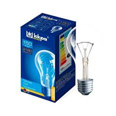 Лампа розжарювання Іскра Б 150W E27 прозора - фото