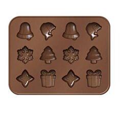 Форми для шоколаду різдвяні Tescoma Delicia Choco 629372 - фото