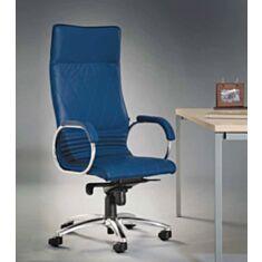 Крісло для керівників ALLEGRO steel chrome тканина LE-E