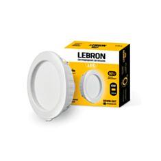Світильник світлодіодний Lebron LED L-DR-641 12-08-06 6W 4100K білий - фото