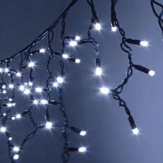 Гірлянда Вулична Бахрома 1445-03 120 LED 5*0,5 м білий - фото