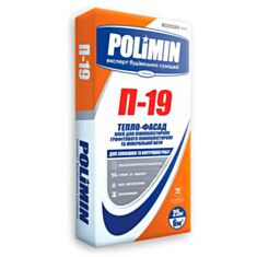 Клей для пенопласта Полимин П-19 25 кг - фото
