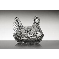 """Ємність для яєць """"Курка"""" Bohemia 58700-69700 215 мм"""