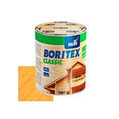 Лазурь для дерева Helios BoriTex ТорLasur Сlassic 2 сосна 0,75 л - фото