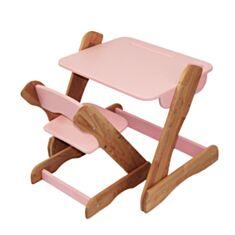 Столик і стільчик дитячий Карапуз p101+c101 рожевий