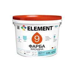 Фасадна фарба Element 9 база С 4,7 л прозорий