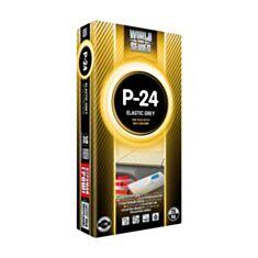 Клей для плитки Полімін П-24 еластичний 25 кг С2ТЕ - фото