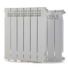 Радиатор биметаллический SanTerra 500*80 с боковым подключением - фото