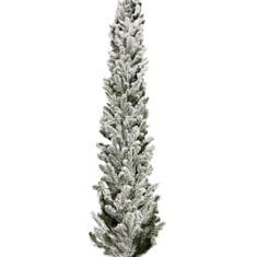 Новорічна гірлянда хвойна Ковалівська 2,50 м засніжена - фото