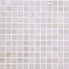Мозаика Mosavit Pandora Inox 50% 31,6*31,6 см кремовая - фото