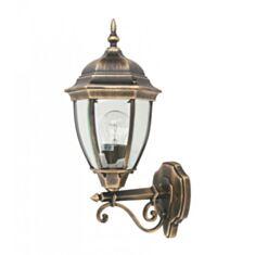 Светильник парковый Lusterlicht QMT 1276S Dallas II 100W стекло старое золото