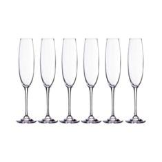 Келихи для шампанського Bohemia Fulica 1SF86 250мл 6шт