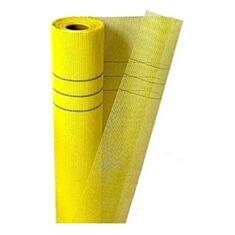 Стеклосетка штукатурная Ферозит 5*5 мм 145 г/м2 желтая - фото