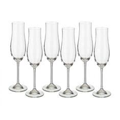 Келихи для шампанського Bohemia Attimo 40807 180мл 6шт