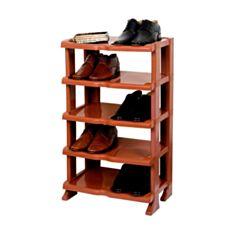 Полка для обуви Proff Премиум PF2601815 5-уровней коричневая - фото