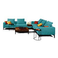 Комплект м`яких меблів Окленд бірюзовий - фото