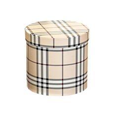 Коробка подарункова Elisey 8014-006 Принт 20*19 см бежева - фото